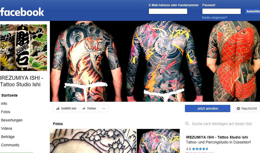 tattoo ishi Facebook site foto